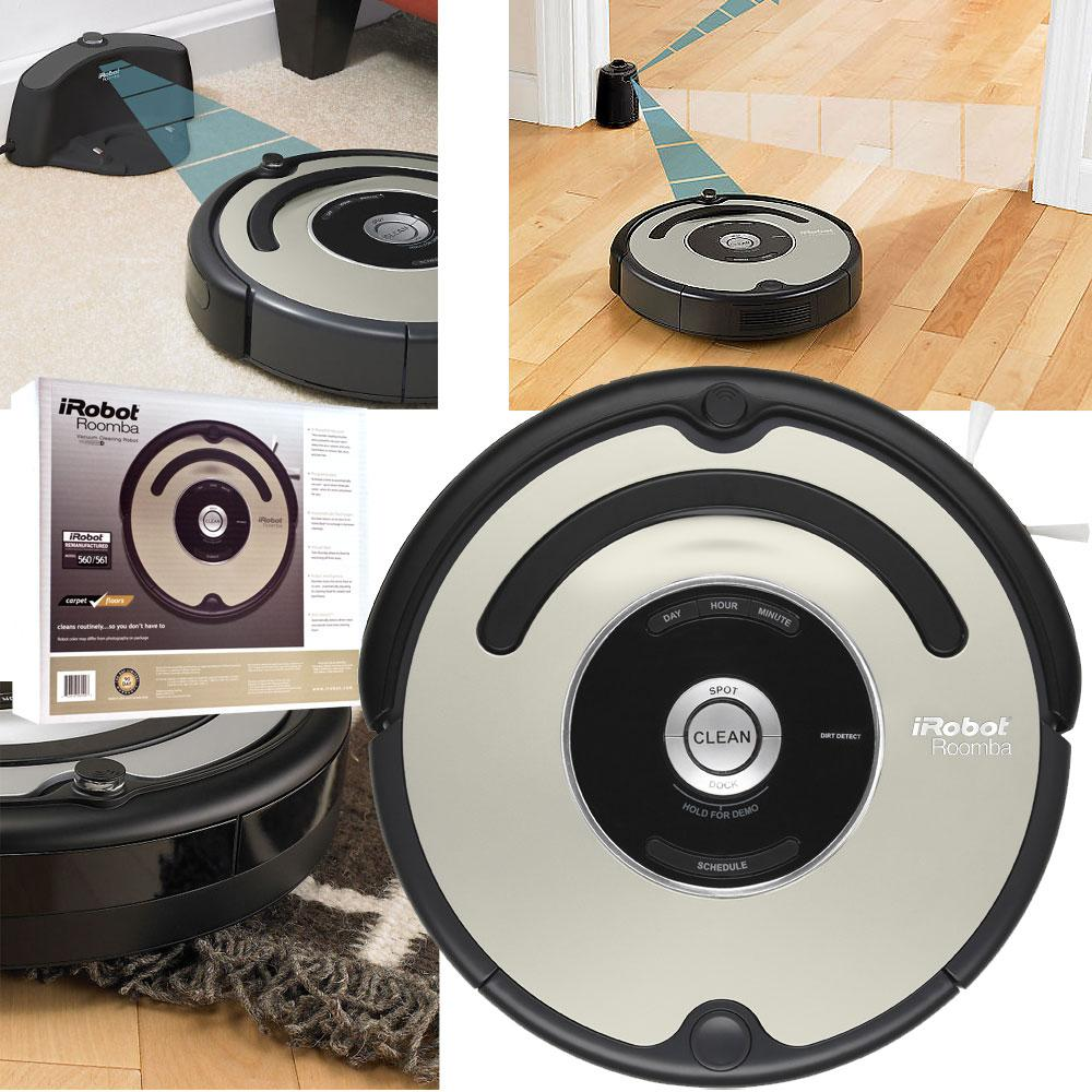 iRobot Roomba 561 Vacuum Cleaner with Home Base (Remanufactured)