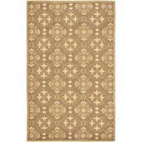 Safavieh Hand-hooked Chelsea Harmony Brown Wool Rug - 3'9 x 5'9