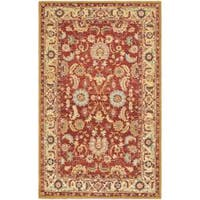 Safavieh Hand-hooked Chelsea Heritages Red Wool Rug (8'9 x 11'9) - 8'9 X 11'9
