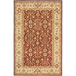 Safavieh Hand-hooked Chelsea Treasures Ivory Wool Rug - 8'9 X 11'9 - Thumbnail 0