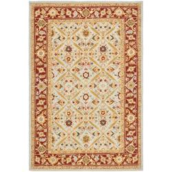 Safavieh Hand-hooked Chelsea Treasures Blue Wool Rug (7'9 x 9'9) - 7'9 x 9'9 - Thumbnail 0
