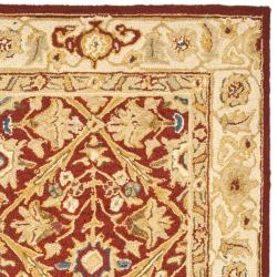 Safavieh Hand-hooked Chelsea Treasures Ivory Wool Runner (2'6 x 10') - Thumbnail 1