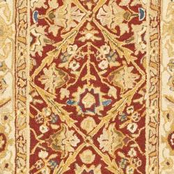 Safavieh Hand-hooked Chelsea Treasures Ivory Wool Runner (2'6 x 10') - Thumbnail 2