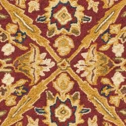 Safavieh Hand-hooked Chelsea Treasures Ivory Wool Runner (2'6 x 4') - Thumbnail 2