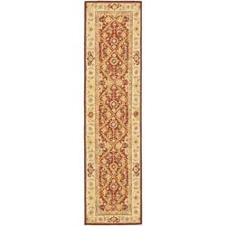 Safavieh Hand-hooked Chelsea Treasures Ivory Wool Runner (2'6 x 12')