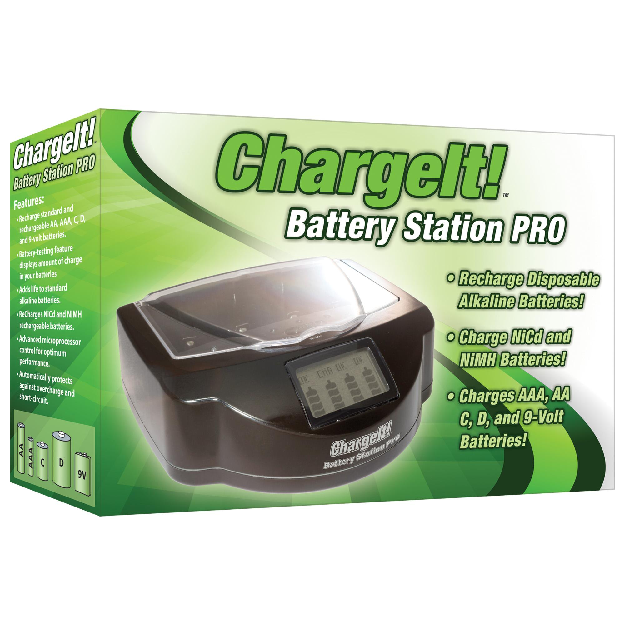 ChargeIt! Battery Station Pro