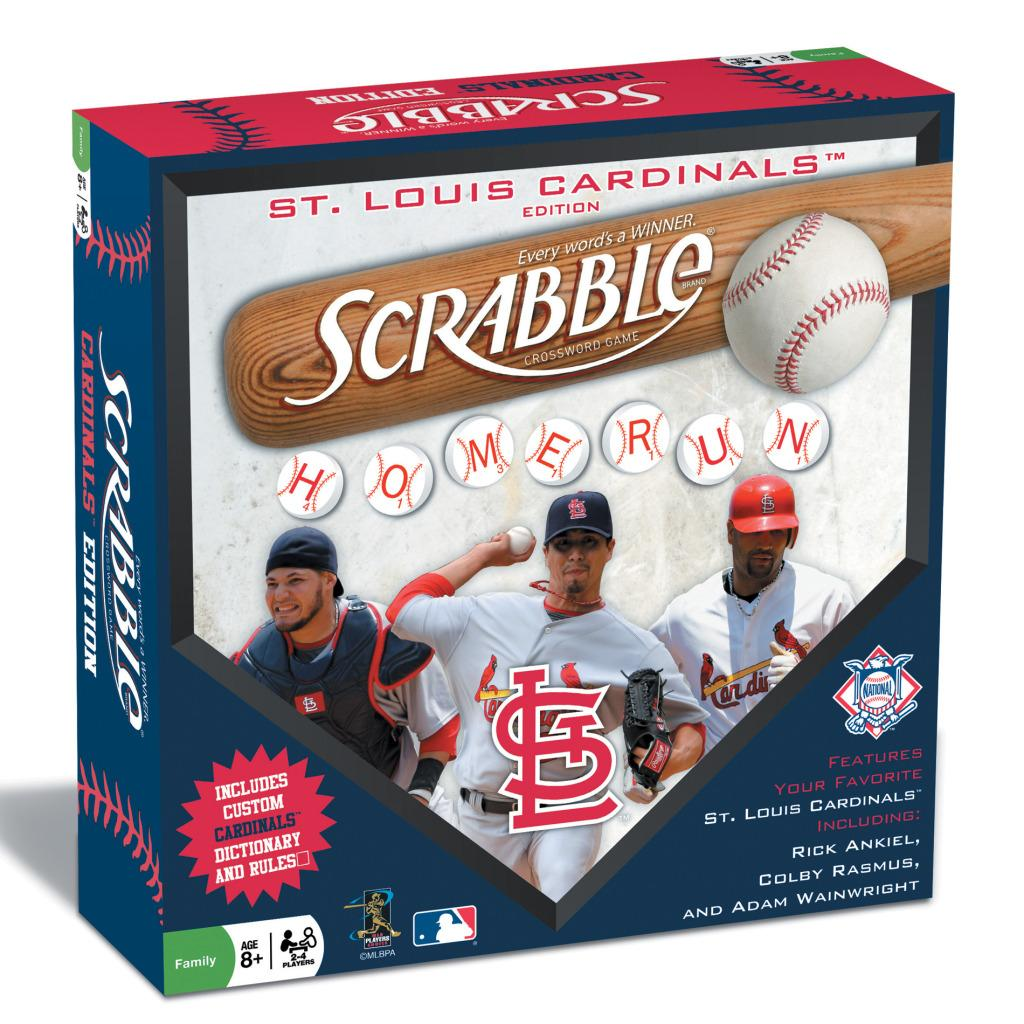 St. Louis Cardinals Scrabble Board Game - Free Shipping On ...