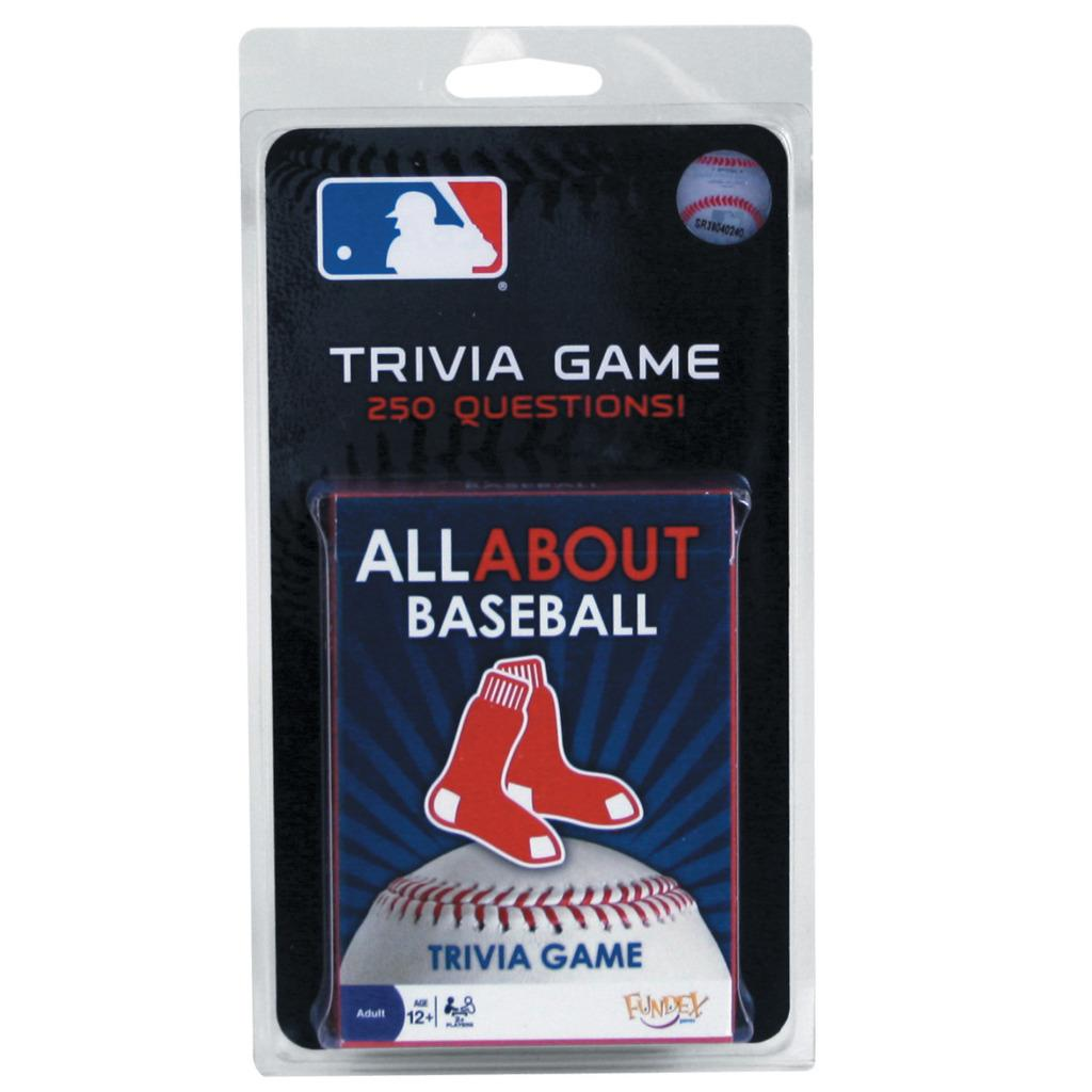 Boston Red Sox All About Trivia Game