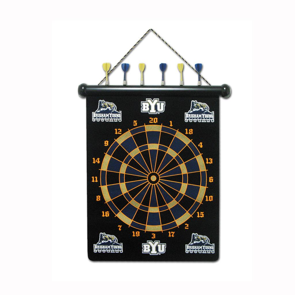 Brigham Young Cougars Magnetic Dart Board