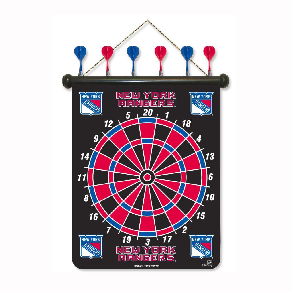 New York Rangers Magnetic Dart Board