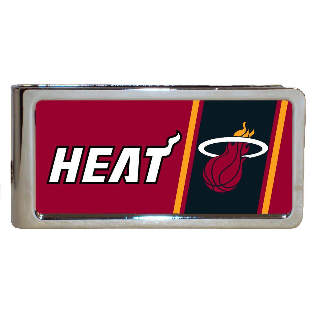 Simran Miami Heat Stainless Steel Money Clip