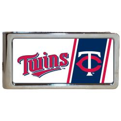 Simran Minnesota Twins Stainless Steel Money Clip