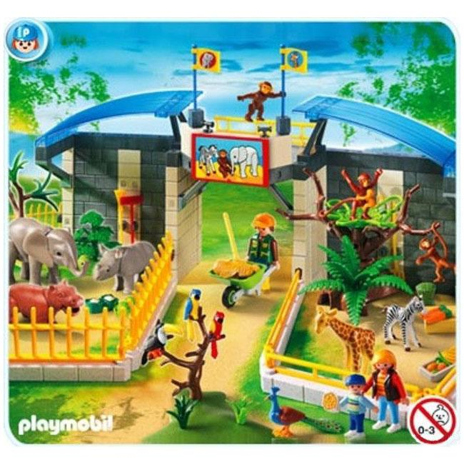 Playmobil Small Zoo with Animals Play Set