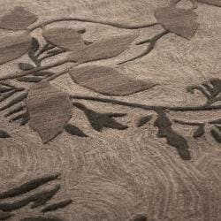 nuLOOM Hand-tufted Evo Vines Grey Rug (8'6 x 11'6) - Thumbnail 1