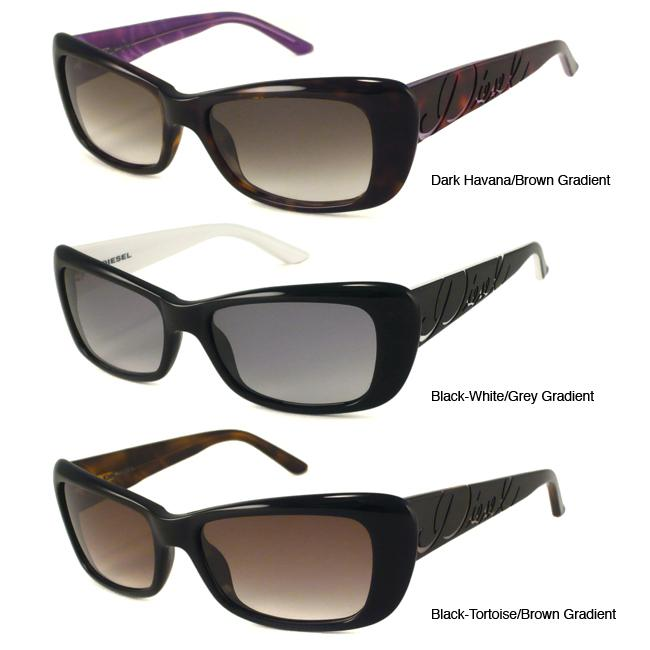 Diesel DS0144 Women's Cat-eye Sunglasses