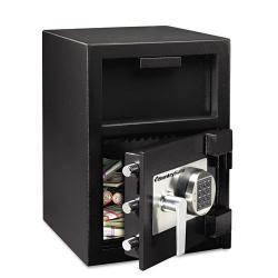 Sentry Safe Depository 1.3-cu-ft Black Safe - Thumbnail 2