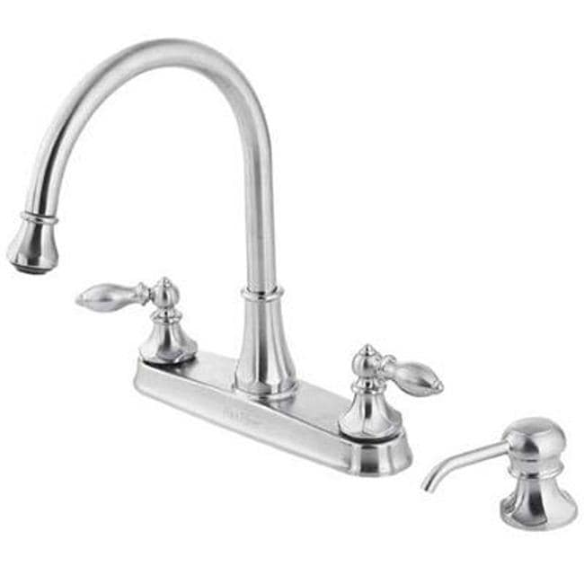 price pfister stainless steel catalina pullout kitchen faucet