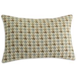 Abilene Seamist Houndstooth Throw Pillow - Thumbnail 0