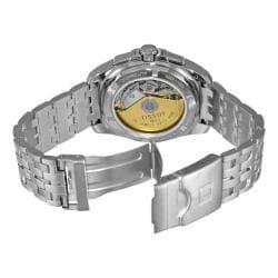 Tissot Men's 'PRC 100 Automatic' Silver Dial Chronograph Watch - Thumbnail 1