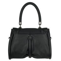 Christian Louboutin 'Miss Rope Capra' Black Leather Shoulder Bag - Thumbnail 2