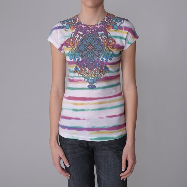 Journee M Collection Juniors Sublimation Print Tee
