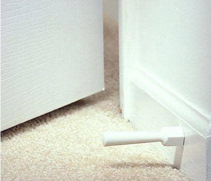 KidCo Soft Jamb White Door Stops (Pack of 3)