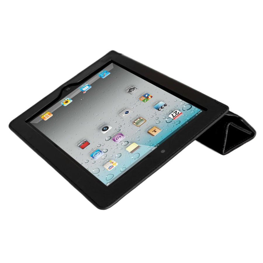 Mivizu Sense Apple iPad 2 Black Leather Case