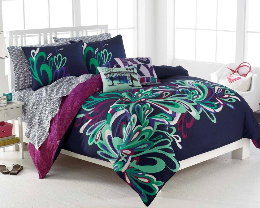 Roxy splash queen size 9 piece bed in a bag with sheet set 13519429