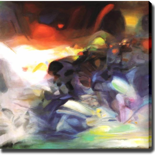 'Abstract Water' Giclee Canvas Art