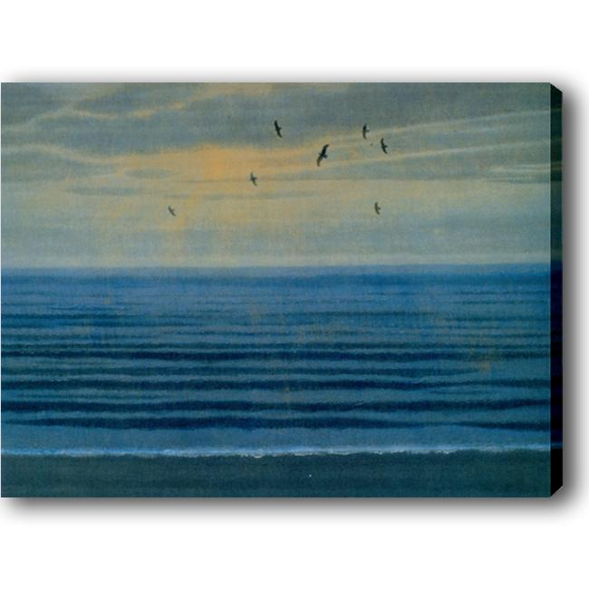 'Blue Ocean' Giclee Canvas Art