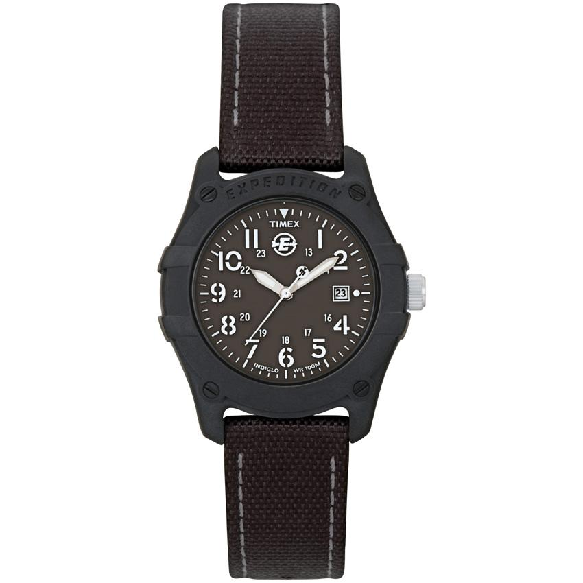 Timex T496929J Women's Expedition Trail Series All Black Nylon Strap Watch
