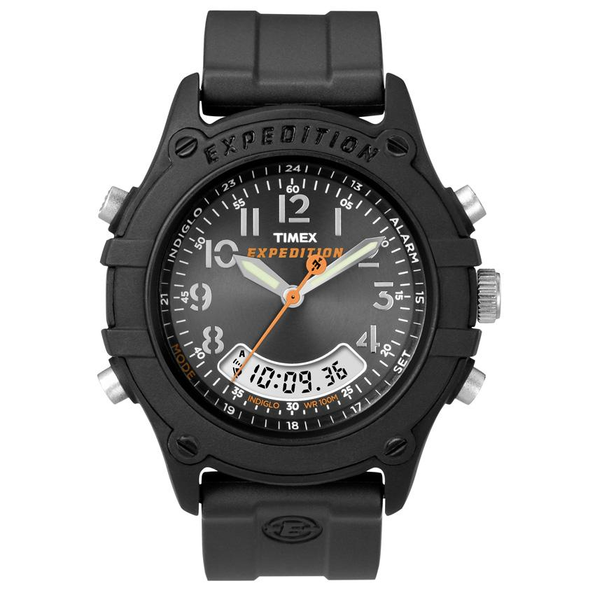 Timex T497429J Men's Rugged Combo Resin Watch