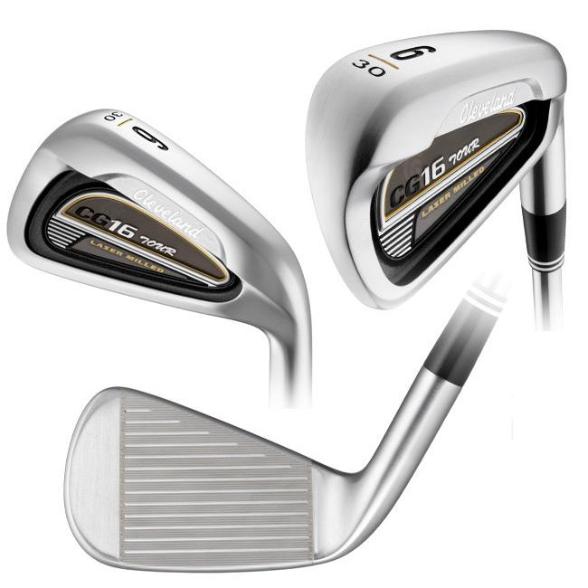 Cleveland Men's CG16 Satin Chrome 4-PW Iron Set