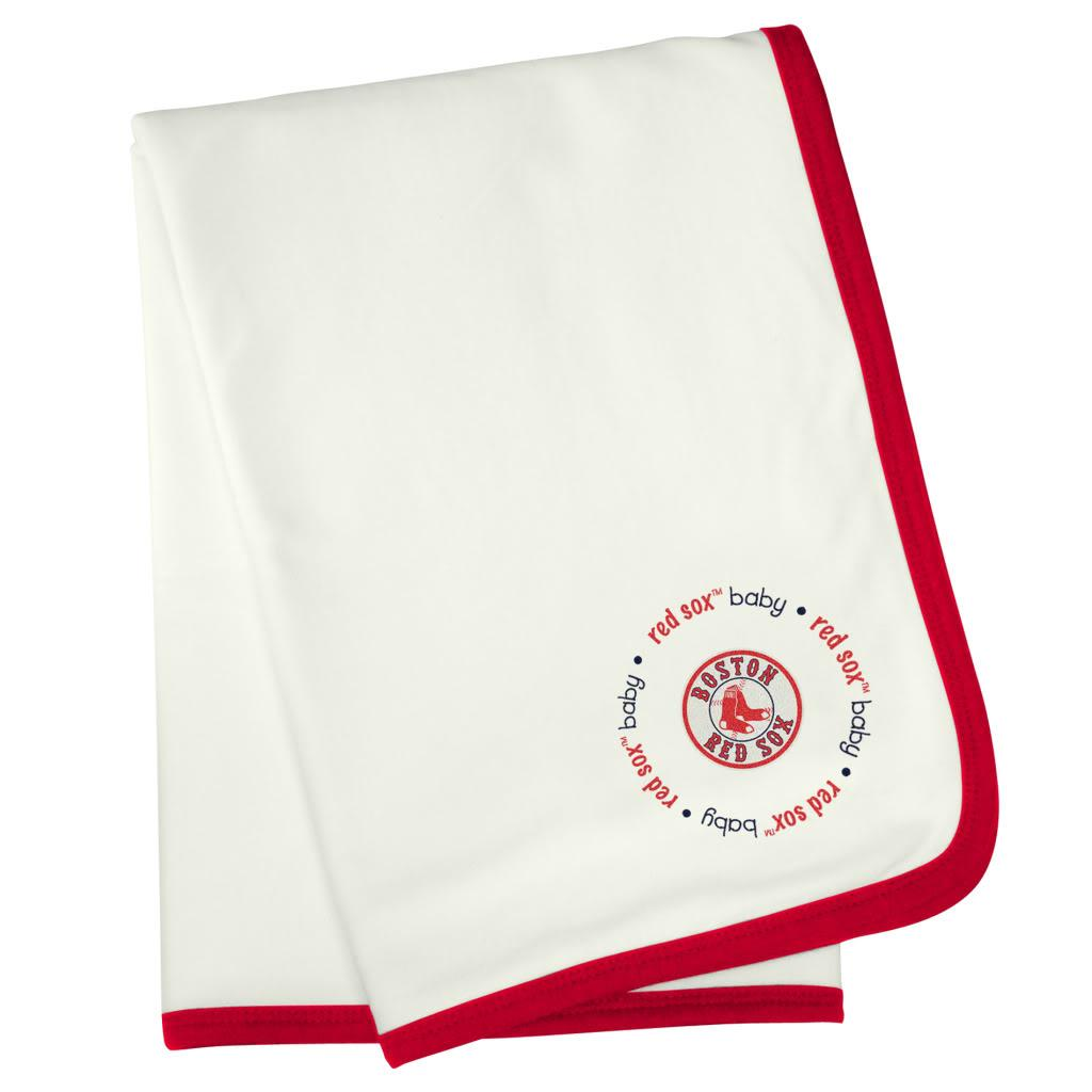 Baby Fanatic Boston Red Sox Cotton Receiving Blanket