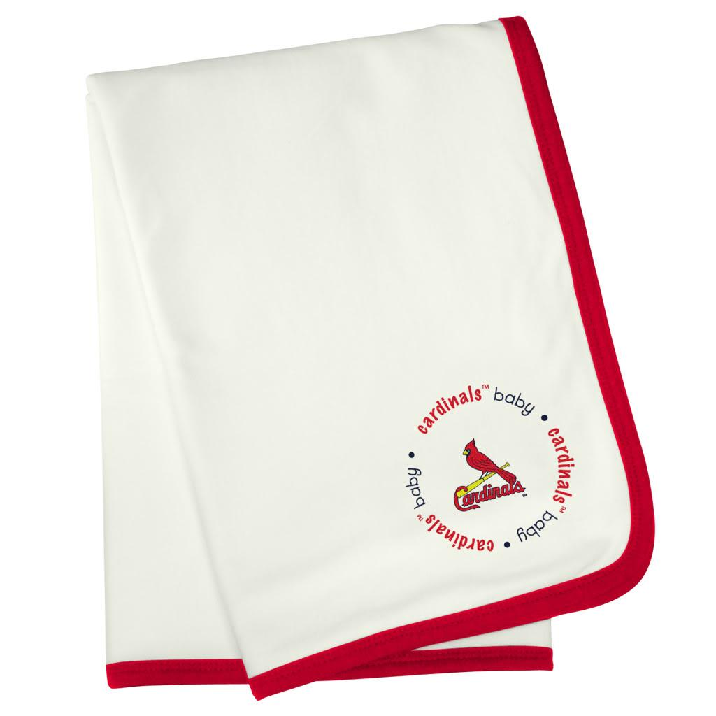 Baby Fanatic St. Louis Cardinals Cotton Receiving Blanket