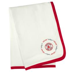 Baby Fanatic Boston Red Sox Cotton Receiving Blanket - Thumbnail 2