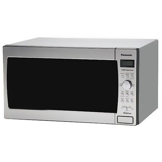 Panasonic Prestige Stainless Steel 1300w Microwave