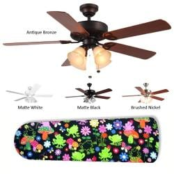 New Image Concepts 4-light 'Frog Oasis' Blade Ceiling Fan