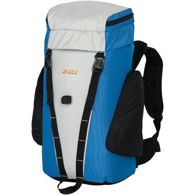 Rokk Mid-size 'Mistral' Blue Hiking Backpack