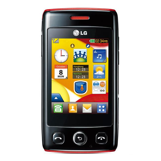 LG Cookie Lite Unlocked GSM Black Cell Phone - Thumbnail 0