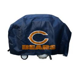 Chicago Bears Deluxe Grill Cover - Thumbnail 1