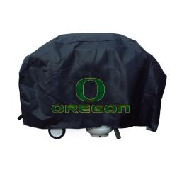 Oregon Ducks Deluxe Grill Cover - Thumbnail 1