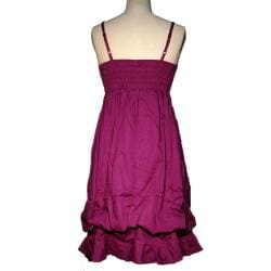 Women's Cotton Ruffled Dress (Nepal)
