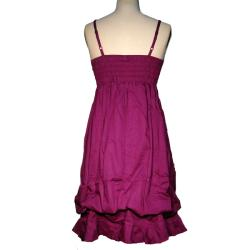 Women's Cotton Ruffled Dress (Nepal) - Thumbnail 1
