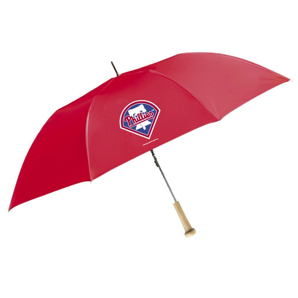 Coopersburg 48-in Philadelphia Phillies Ballpark Bat Umbrella