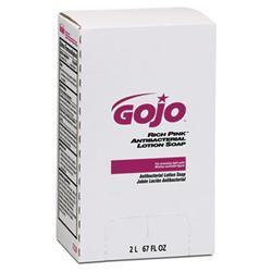 GOJO RICH PINK Antibacterial Lotion Soap Refill-