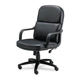 Mayline Comfort Series Big and Tall Black Executive Swivel/ Tilt Chair