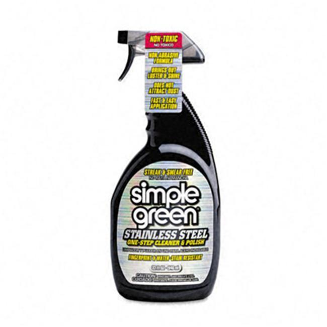 Simple Green Stainless Steel (Silver) One-Step Cleaner &