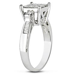 Miadora 14k White Gold 1 1/4ct TDW Diamond Ring (G-H, I2-I3)