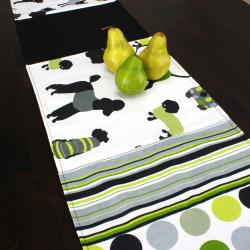 Shop Doggy Day Lime Reversible Pieced 13x72 Inch Table